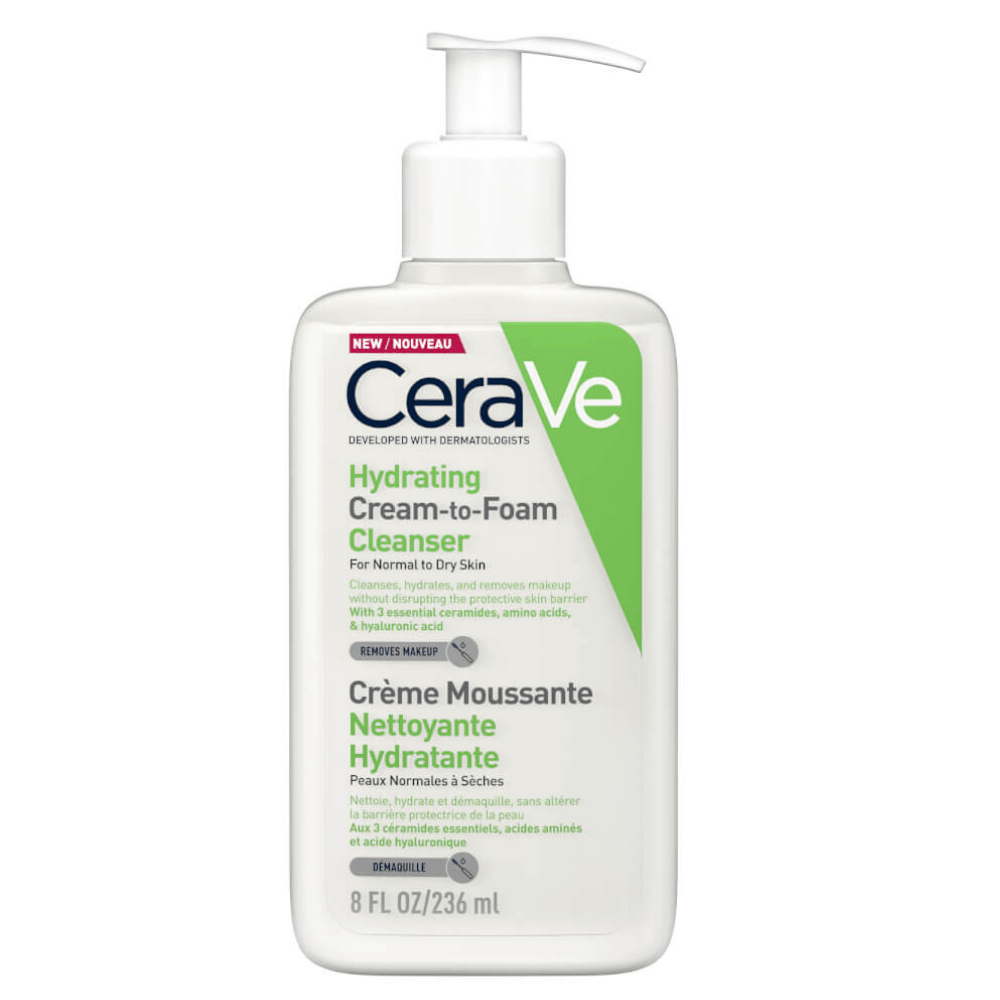 Hydrating Cream-to-Foam Cleanser 236ml image
